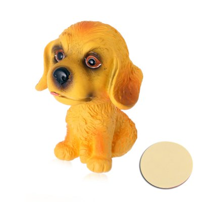 Good Luck Dog Shook Head Doll Car DecorCar Phone Holder<br>Good Luck Dog Shook Head Doll Car Decor<br><br>Material: PVC<br>Package Contents: 1 x Car Decoration, 1 x Sticker<br>Package size (L x W x H): 8.70 x 10.80 x 11.00 cm / 3.43 x 4.25 x 4.33 inches<br>Package weight: 0.100 kg<br>Product weight: 0.050 kg<br>Type: Other Decorations