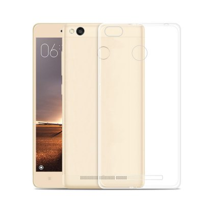 Luanke Transparent Phone Case for Xiaomi Redmi 3 ProCases &amp; Leather<br>Luanke Transparent Phone Case for Xiaomi Redmi 3 Pro<br><br>Brand: Luanke<br>Color: Transparent<br>Compatible Model: Xiaomi Redmi 3 Pro<br>Features: Anti-knock, Back Cover<br>Mainly Compatible with: Xiaomi<br>Material: TPU<br>Package Contents: 1 x Case<br>Package size (L x W x H): 21.00 x 10.50 x 2.50 cm / 8.27 x 4.13 x 0.98 inches<br>Package weight: 0.065 kg<br>Product Size(L x W x H): 14.30 x 7.40 x 1.00 cm / 5.63 x 2.91 x 0.39 inches<br>Product weight: 0.010 kg