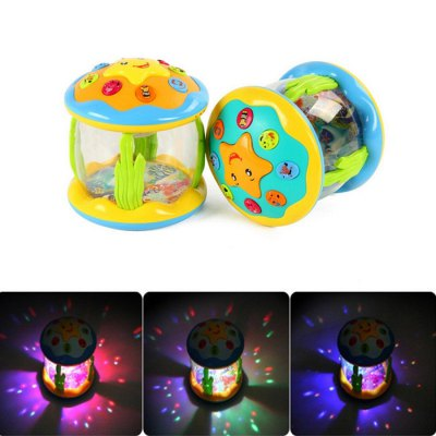 Marine Drum Electric Kid Early Intelligent Gift Toy - 1pc