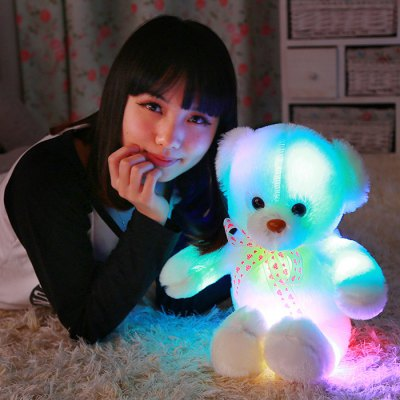 50cm / 20 inch Luminous Cartoon Bear Plush ToyStuffed Cartoon Toys<br>50cm / 20 inch Luminous Cartoon Bear Plush Toy<br><br>Materials: Other,Plush,PP Cotton<br>Theme: Movie and TV<br>Features: Battery Operated,Stuffed and Plush<br>Series: Lifestyle<br>Package weight: 0.431 kg<br>Product size: 23.00 x 9.00 x 50.00 cm / 9.06 x 3.54 x 19.69 inches<br>Package size: 24.00 x 10.00 x 45.00 cm / 9.45 x 3.94 x 17.72 inches<br>Package Contents: 1 x Cartoon Bear Plush Toy