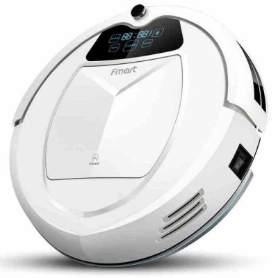 Fmart E - 550W Smart Robotic Vacuum Cleaner Cordless Sweeping Cleaning Machine Self-recharging Timing Function Automatic