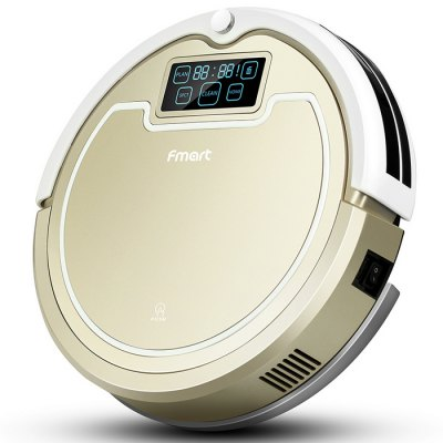 FMART E - R300G Smart Robotic Vacuum Cleaner Cordless Sweeping Cleaning Machine Self-recharging Timing Function Automati