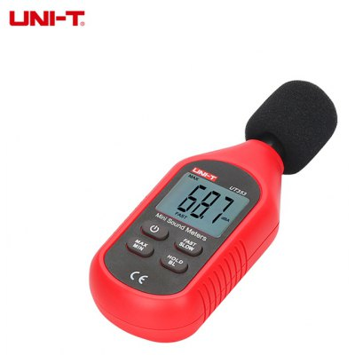 UNI - T UT353 30 - 130dB LCD Digital Noise Sound Level Meter