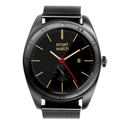 CACGO K89 Bluetooth 4.0 Heart Rate Monitor Smart WatchSmart Watches<br>CACGO K89 Bluetooth 4.0 Heart Rate Monitor Smart Watch<br><br>Alert type: Vibration, Ring<br>Available Color: Black,Gold,Silver<br>Band material: Stainless Steel<br>Band size: 25 x 2.2 cm / 9.84 x 0.87 inches<br>Battery Capacty: 300mAh<br>Bluetooth calling: Answering,Call log sync,Phone call reminder,Phonebook<br>Bluetooth Version: Bluetooth 4.0<br>Built-in chip type: MTK2502<br>Case material: Stainless Steel<br>Charging Time: About 2hours<br>Compatability: Android 4.3 / iOS 7.0 and Above Systems<br>Compatible OS: Android, IOS<br>Dial size: 4.3 x 4.3 x 1.3 cm / 1.69 x 1.69 x 0.51 inches<br>Find phone: Yes<br>Groups of alarm: 5<br>Health tracker: Heart rate monitor,Pedometer,Sedentary reminder,Sleep monitor<br>Language: Dutch,English,French,German,Italian,Polish,Portuguese,Russian,Spanish,Turkish<br>Locking screen : 5<br>Messaging: Message reminder<br>Notification: Yes<br>Notification type: Twitter, Facebook, WhatsApp<br>Operating mode: Touch Screen, Press button<br>Other Function: Voice recorder, Calculator, Alarm, Calender<br>Package Contents: 1 x CACGO K89 Smart Watch, 1 x Charging Cable, 1 x English User Manual<br>Package size (L x W x H): 19.30 x 6.50 x 5.00 cm / 7.6 x 2.56 x 1.97 inches<br>Package weight: 0.2300 kg<br>People: Female table,Male table<br>Product size (L x W x H): 25.00 x 4.30 x 1.30 cm / 9.84 x 1.69 x 0.51 inches<br>Product weight: 0.0780 kg<br>RAM: 128MB<br>Remote control function: Remote Camera, Remote music<br>ROM: 64MB<br>Screen: IPS<br>Screen resolution: 240 x 240<br>Screen size: 1.2 inch<br>Shape of the dial: Round<br>Standby time: About 4 - 5 Days<br>Type of battery: Polymer Battery