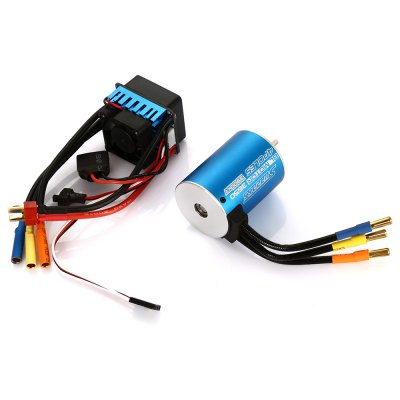 SURPASS 3650 Brushless MotorMotor<br>SURPASS 3650 Brushless Motor<br><br>Brand: SURPASS<br>Motor Type: Brushless Motor<br>Package Contents: 1 x Motor, 1 x ESC, 1 x English Manual<br>Package size (L x W x H): 9.50 x 6.50 x 5.00 cm / 3.74 x 2.56 x 1.97 inches<br>Package weight: 0.340 kg<br>Type: ESC, Motor