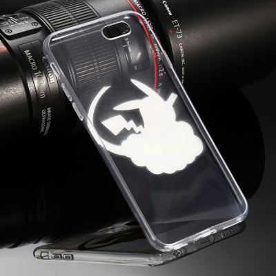 Transparent Protective Phone Case for iPhone 6 Plus / 6S PlusiPhone Cases/Covers<br>Transparent Protective Phone Case for iPhone 6 Plus / 6S Plus<br><br>Compatible for Apple: iPhone 6 Plus, iPhone 6S Plus<br>Features: Anti-knock, Back Cover<br>Material: TPU<br>Package Contents: 1 x Case<br>Package size (L x W x H): 22.00 x 11.50 x 2.50 cm / 8.66 x 4.53 x 0.98 inches<br>Package weight: 0.059 kg<br>Product size (L x W x H): 16.10 x 8.10 x 0.80 cm / 6.34 x 3.19 x 0.31 inches<br>Product weight: 0.014 kg<br>Style: Cartoon, Transparent, Cute