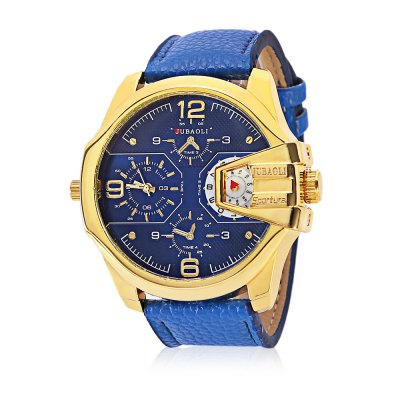 JUBAOLI 1136 Fashion Men Quartz Watch