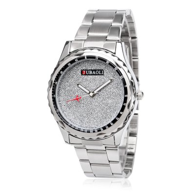 JUBAOLI 1142 Business Lady Quartz WatchWomens Watches<br>JUBAOLI 1142 Business Lady Quartz Watch<br><br>Available Color: Black,Blue,Orange,Red,White<br>Band material: Stainless Steel<br>Band size: 21 x 2 cm / 8.27 x 0.79 inches<br>Brand: Jubaoli<br>Case material: Alloy<br>Clasp type: Hook buckle<br>Dial size: 3.8 x 3.8 x 1.3 cm / 1.5 x 1.5 x 0.51 inches<br>Display type: Analog<br>Movement type: Quartz watch<br>Package Contents: 1 x JUBAOLI 1142 Business Lady Quartz Watch, 1 x Box<br>Package size (L x W x H): 8.80 x 8.00 x 5.30 cm / 3.46 x 3.15 x 2.09 inches<br>Package weight: 0.137 kg<br>Product size (L x W x H): 21.00 x 3.80 x 1.30 cm / 8.27 x 1.5 x 0.51 inches<br>Product weight: 0.078 kg<br>Shape of the dial: Round<br>Watch style: Fashion<br>Watches categories: Female table<br>Water resistance : Life water resistant