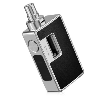 Original Joyetech eVic AIO KitMod kits<br>Original Joyetech eVic AIO Kit<br><br>APV Mod Wattage: 75W<br>APV Mod Wattage Range: 51-100W<br>Atomizer Capacity: 3.5ml<br>Atomizer Resistance: 0.5 ohm / 0.25 ohm / 1.5 ohm<br>Atomizer Type: Clearomizer, Tank Atomizer<br>Available Color: Black,Silver<br>Battery Cover Type: Magnetic<br>Battery Form Factor: 18650<br>Battery Quantity: 1pc ( not included )<br>Brand: Joyetech<br>Connection Threading of Atomizer: 510<br>Connection Threading of Battery: 510<br>Material: Zinc Alloy, Stainless Steel, Glass<br>Mod Type: VV/VW Mod, Temperature Control Mod<br>Model: eVic AIO<br>Package Contents: 1 x Joyetech eVic AIO Mod Kit, 1 x 0.25 ohm NotchCoil DL. Coil Head, 1 x 0.5 ohm BF SS316 DL. Coil Head, 1 x 1.5 ohm LVC Clapton MTL. Coil Head, 1 x QCS Coil Head, 2 x Mouthpiece, 1 x USB Cable, 1 x A<br>Package size (L x W x H): 4.70 x 9.10 x 13.20 cm / 1.85 x 3.58 x 5.2 inches<br>Package weight: 0.470 kg<br>Product size (L x W x H): 2.60 x 4.80 x 10.50 cm / 1.02 x 1.89 x 4.13 inches<br>Product weight: 0.280 kg<br>Temperature Control Range: 100 - 315 Deg.C / 200 - 600 Deg.F<br>Type: Mod Kit