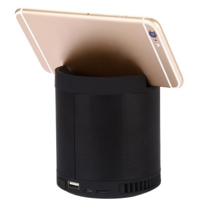 HF - Q3 Speaker Wireless Bluetooth 2.1Speakers<br>HF - Q3 Speaker Wireless Bluetooth 2.1<br><br>Audio Source: Bluetooth Enabled Devices,Electronic Products with USB port,TF/Micro SD Card<br>Battery Capacity: 1200mAh<br>Bluetooth Version: Bluetooth 2.1<br>Charging Time: 3 hours<br>Color: Black,Golden<br>Compatible with: Mobile phone, iPhone, MP3, iPod, Laptop, TF/Micro SD Card, Tablet PC, PC, MP5<br>Connection: Wireless<br>Design: Multifunctional<br>Freq: 100Hz-20KHz<br>Interface: Micro USB, USB2.0, 3.5mm Audio, TF Card Slot<br>Lasting Time: 9 hours<br>Material: ABS, Electronic Components<br>Model: HF - Q3<br>Number of Speakers: 1<br>Package Contents: 1 x HF - Q3 Wireless Bluetooth 2.1 Speaker, 1 x USB Cable<br>Package size (L x W x H): 10.50 x 10.50 x 11.80 cm / 4.13 x 4.13 x 4.65 inches<br>Package weight: 0.517 kg<br>Product size (L x W x H): 9.50 x 9.50 x 10.80 cm / 3.74 x 3.74 x 4.25 inches<br>Product weight: 0.457 kg<br>S/N: 80dB<br>Sound channel: Two-channel (stereo)<br>Speaker Impedance: 4 ohm<br>Support O.S: Windows XP, Windows Vista, Windows ME, Windows 98SE, Linux, Mac OS, Windows 2000, Windows 7, Windows 98<br>Supports: FM, Bluetooth, LED Shinning, TF Card Music Playing, Volume Control, Hands-free Calls<br>Working Voltage: DC 5V