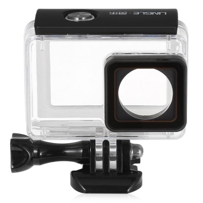 LINGLE Y2 - 26 45M Waterproof Housing for YI 4K CameraAction Cameras &amp; Sport DV Accessories<br>LINGLE Y2 - 26 45M Waterproof Housing for YI 4K Camera<br><br>Brand: LINGLE<br>Apply to Brand: XiaoMi<br>Compatible with: Xiaomi Yi II<br>Accessory type: Protective Cases/Housing<br>Material: Acrylic<br>Waterproof: Yes<br>For Activity: Dive<br>Product weight: 0.079 kg<br>Package weight: 0.149 kg<br>Product size (L x W x H): 7.80 x 5.00 x 7.50 cm / 3.07 x 1.97 x 2.95 inches<br>Package size (L x W x H): 11.50 x 9.00 x 6.00 cm / 4.53 x 3.54 x 2.36 inches<br>Package Contents: 1 x Waterproof Housing, 1 x Mount, 1 x Screw