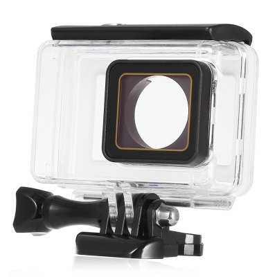 LINGLE Y2 - 26 Touch Control Waterproof Housing for YI II Action Camera