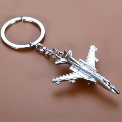 Creative Aircraft Shape Key Chain