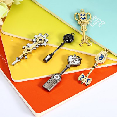 Alloy Keyring Pendant Decoration ToyMovies &amp; TV Action Figures<br>Alloy Keyring Pendant Decoration Toy<br><br>Materials: Alloy,Other<br>Theme: Movie and TV<br>Gender: Unisex<br>Design Style: Fashion<br>Stem From: Japan<br>Package weight: 0.768 kg<br>Package size: 40.00 x 16.00 x 4.00 cm / 15.75 x 6.3 x 1.57 inches<br>Package Contents: 28 x Keyring, 1 x Accessory Set