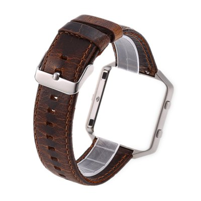 Crazy Horse Leather Strap for Fitbit Blaze Smart WatchWatch Accessories<br>Crazy Horse Leather Strap for Fitbit Blaze Smart Watch<br><br>Type: Smart watch / wristband band<br>Material: Leather<br>Color: Brown,Orange<br>Product weight: 0.024 kg<br>Package weight: 0.048 kg<br>Product size (L x W x H): 24.00 x 4.00 x 1.20 cm / 9.45 x 1.57 x 0.47 inches<br>Package size (L x W x H): 14.00 x 5.00 x 2.20 cm / 5.51 x 1.97 x 0.87 inches<br>Package Contents: 1 x Watch Strap for Fitbit Blaze, 1 x Case