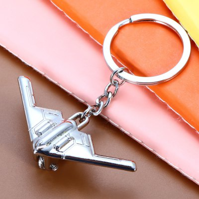 Creative Aircraft Shape Key ChainKey Chains<br>Creative Aircraft Shape Key Chain<br><br>Features: Creative Toy, Model<br>Materials: Metal<br>Package Contents: 1 x Key Chain<br>Package size: 4.00 x 7.00 x 3.00 cm / 1.57 x 2.76 x 1.18 inches<br>Package weight: 0.043 kg<br>Product size: 6.00 x 3.20 x 1.50 cm / 2.36 x 1.26 x 0.59 inches<br>Product weight: 0.022 kg<br>Series: Fashion,Lifestyle<br>Theme: Other