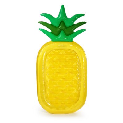 Inflatable Pineapple Floating Row Bed