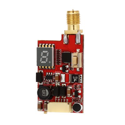 TS985 Mini FPV Video TransmitterReceiver &amp; Transmitter<br>TS985 Mini FPV Video Transmitter<br><br>Package Contents: 1 x Transmitter, 1 x Antenna, 1 x Cable, 1 x English Manual<br>Package size (L x W x H): 9.00 x 4.50 x 1.50 cm / 3.54 x 1.77 x 0.59 inches<br>Package weight: 0.043 kg<br>Product size (L x W x H): 2.00 x 1.00 x 4.20 cm / 0.79 x 0.39 x 1.65 inches<br>Product weight: 0.008 kg