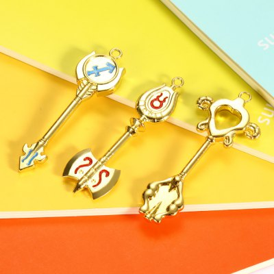 Anime Keyring Pendant Decoration Toy - 18pcs / setMovies &amp; TV Action Figures<br>Anime Keyring Pendant Decoration Toy - 18pcs / set<br><br>Design Style: Fashion<br>Gender: Unisex<br>Materials: Alloy<br>Package Contents: 18 x Key Chain ( with Key Ring )<br>Package size: 28.00 x 17.00 x 4.00 cm / 11.02 x 6.69 x 1.57 inches<br>Package weight: 0.4700 kg<br>Stem From: Japan<br>Theme: Movie and TV