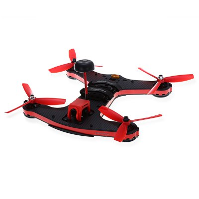 Holybro Shuriken 250 RC Racing Drone - BNFBrushless FPV Racer<br>Holybro Shuriken 250 RC Racing Drone - BNF<br><br>Brand: Holybro<br>Channel: No Transmitter<br>KV: 2205 - 2550KV<br>Mode: No Transmitter<br>Package Contents: 1 x Shuriken 250 ( with FrSky XSR Receiver ), 1 x Antenna, 1 x Wrench, 8 x Three-blade Propellers, 1x Set of English Manuals, 1 x Sticker, 1 x Set of Accessories, 1x Softshell Case<br>Package size (L x W x H): 32.00 x 30.50 x 6.50 cm / 12.6 x 12.01 x 2.56 inches<br>Package weight: 1.293 kg<br>Product size (L x W x H): 27.50 x 27.50 x 5.00 cm / 10.83 x 10.83 x 1.97 inches<br>Product weight: 0.462 kg<br>Remote Control: Radio Control<br>Type: Frame Kit<br>Video Resolution: 700TVL ( horizontal resolution )<br>Video Standards: NTSC,PAL