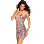 Sequined Backless Mini Slip Dress for sale