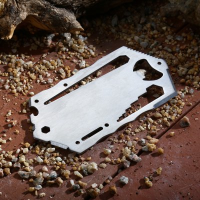 Outdoor Portable Stainless Steel Multifunctional Tool Card