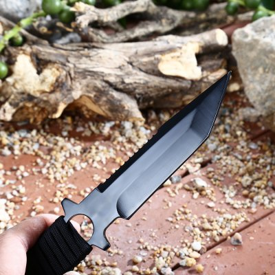440C Stainless Steel Fixed Blade Knife for Hunting Fishing