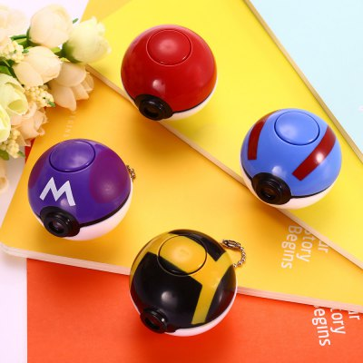 Creative Image Projection Ball Key Chain