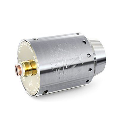 Original IJOY Limitless 24 RDA AtomizerRebuildable Atomizers<br>Original IJOY Limitless 24 RDA Atomizer<br><br>Available Color: Silver<br>Brand: IJOY<br>Material: Stainless Steel<br>Model: Limitless 24<br>Overall Diameter: 24mm<br>Package Contents: 1 x  Ijoy Limitless 24 RDA Atomizer<br>Package size (L x W x H): 9.00 x 5.10 x 4.60 cm / 3.54 x 2.01 x 1.81 inches<br>Package weight: 0.136 kg<br>Product size (L x W x H): 4.50 x 2.40 x 2.40 cm / 1.77 x 0.94 x 0.94 inches<br>Product weight: 0.060 kg<br>Rebuildable Atomizer: RBA,RDA<br>Thread: 510<br>Type: Rebuildable Drippers, Rebuildable Atomizer