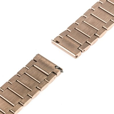 Three Bead Butterfly Buckle Strap for Samsung S2 Smart WatchWatch Accessories<br>Three Bead Butterfly Buckle Strap for Samsung S2 Smart Watch<br><br>Color: Black,Gold,Rose Gold,Silver<br>Material: Stainless Steel<br>Package Contents: 1 x Strap, 3 x Watch Link Pin<br>Package size (L x W x H): 18.80 x 3.00 x 2.20 cm / 7.4 x 1.18 x 0.87 inches<br>Package weight: 0.114 kg<br>Product size (L x W x H): 17.80 x 2.00 x 1.20 cm / 7.01 x 0.79 x 0.47 inches<br>Product weight: 0.081 kg<br>Type: Smart watch / wristband band