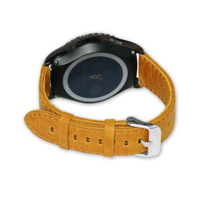 Crazy Horse Leather Strap for Samsung Gear S2 Smart WatchWatch Accessories<br>Crazy Horse Leather Strap for Samsung Gear S2 Smart Watch<br><br>Color: Brown,Orange<br>Material: Leather<br>Package Contents: 1 x Strap<br>Package size (L x W x H): 21.50 x 3.00 x 1.60 cm / 8.46 x 1.18 x 0.63 inches<br>Package weight: 0.035 kg<br>Product size (L x W x H): 20.50 x 2.00 x 0.60 cm / 8.07 x 0.79 x 0.24 inches<br>Product weight: 0.012 kg<br>Type: Smart watch / wristband band