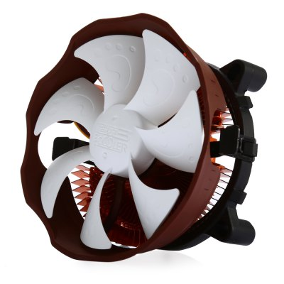 PCCOOLER E112 Desktop CPU Cooling FanCPU Cooler<br>PCCOOLER E112 Desktop CPU Cooling Fan<br><br>Brand: PCCOOLER<br>Color: White<br>Noise: 18dBA<br>Package Contents: 1 x PCCOOLER E112 Desktop CPU Cooling Fan, 8 x Fixed Button, 1 x Thermal Grease, 1 x Installation Stand<br>Package size (L x W x H): 12.00 x 12.00 x 6.50 cm / 4.72 x 4.72 x 2.56 inches<br>Package weight: 0.234 kg<br>Product weight: 0.149 kg<br>Rated Voltage (V): 12V DC<br>Type: Cooling Fan