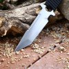 440C Stainless Steel Fixed Blade Hunting Knife with Sheath deal