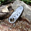 Outdoor No Lock Foldable Knife with Bottle Opener Function deal
