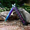 cheap Colorful Carbon Steel Liner Lock Foldable Knife