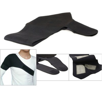 Far-infared and Magnetic Therapy Function Self-heating Shoulder Pad Belt for Shoulder - BlackHome Gadgets<br>Far-infared and Magnetic Therapy Function Self-heating Shoulder Pad Belt for Shoulder - Black<br><br>Package weight: 0.180 kg<br>Package size (L x W x H): 19.00 x 4.00 x 24.00 cm / 7.48 x 1.57 x 9.45 inches