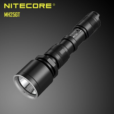 Nitecore MH25GT Cree XP-L HI V3 1000Lm Rechargeable LED Flashlight User-defined Mode