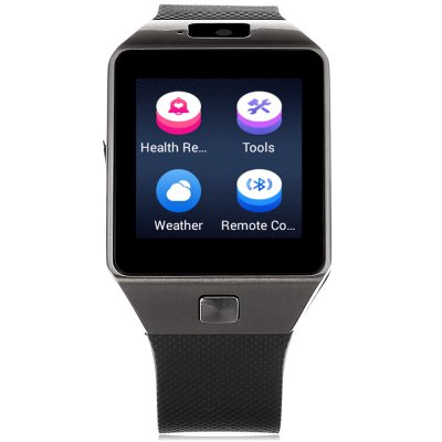 Tenfifteen QW09 3G Smartwatch PhoneSmart Watch Phone<br>Tenfifteen QW09 3G Smartwatch Phone<br><br>Brand: TenFifteen<br>Type: Watch Phone<br>OS: Android 4.4<br>CPU: MTK6572<br>Cores: 1.2GHz,Dual Core<br>RAM: 512MB<br>ROM: 4GB<br>External Memory: Not Supported<br>Compatible OS: Android<br>Wireless Connectivity: Bluetooth 4.0<br>WIFI: 802.11b/g/n wireless internet<br>Network type: GSM+WCDMA<br>Frequency: GSM850/900/1800/1900MHz WCDMA 1900/2100MHz<br>Support 3G : Yes<br>Bluetooth: Yes<br>Bluetooth version: V4.0<br>Screen type: Capacitive<br>Screen size: 1.54 inch<br>Screen resolution: 240 x 240<br>Camera type: Single camera<br>Front camera: 2.0MP<br>SIM Card Slot: Single SIM<br>Speaker: Supported<br>Picture format: JPEG<br>Music format: AAC,MP3,WAV<br>Video format: MP4<br>Languages: Bahasa Indonesia, Melayu, Czech, Danish, German, English, Spanish, Filipino, French, Croatian, Italian,  Latvian, Lithuanian, Magyar, Dutch, Norwegian Bokmal, Polish,  Portuguese, Romanian, Slovak, Fi<br>Additional Features: 2G,3G,Alarm,Bluetooth,Calculator...,Notification,People,Sound Recorder,Wi-Fi<br>Functions: Pedometer<br>Cell Phone: 1<br>Battery: 1 x 300mAh<br>USB Cable: 1<br>English Manual : 1<br>Product size: 5.30 x 3.90 x 1.20 cm / 2.09 x 1.54 x 0.47 inches<br>Package size: 10.80 x 10.80 x 8.60 cm / 4.25 x 4.25 x 3.39 inches<br>Product weight: 0.057 kg<br>Package weight: 0.235 kg