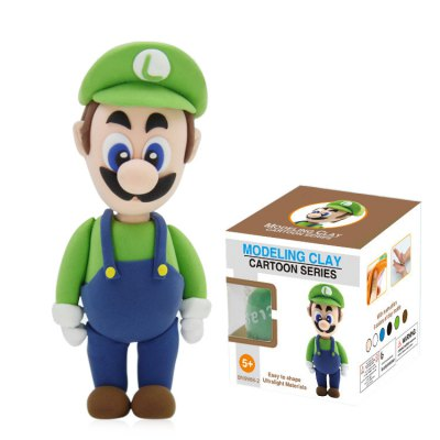 Cartoon Figure Model 3D Colored Modeling Clay
