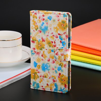 PU Leather Wallet Protective Full Body Phone Case for Xiaomi Redmi 3 Pro