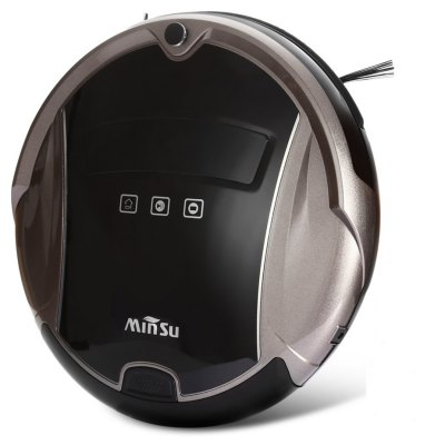 MinSu Smart Robotic Vacuum Cleaner Dry Wet Mopping Sweeping Voice Alarm
