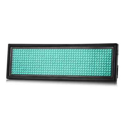 Programmable LED Digital Scrolling Tag
