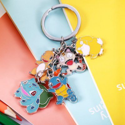 5-in-1 Cartoon Animal Character Key ChainKey Chains<br>5-in-1 Cartoon Animal Character Key Chain<br><br>Materials: Zinc Alloy<br>Theme: Animals,Movie and TV<br>Gender: Unisex<br>Design Style: Other<br>Stem From: Japan<br>Product weight: 0.026 kg<br>Package weight: 0.048 kg<br>Package size: 5.00 x 5.00 x 2.00 cm / 1.97 x 1.97 x 0.79 inches<br>Package Contents: 1 x Key Chain