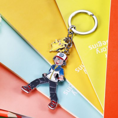 Classic Cartoon Character Zinc Alloy Key Chain