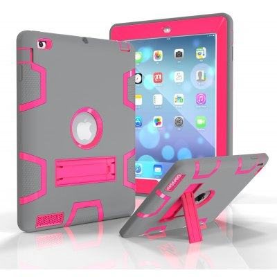 Protective Back Cover Case with Science Fiction Design for iPad 2 / 3 / 4