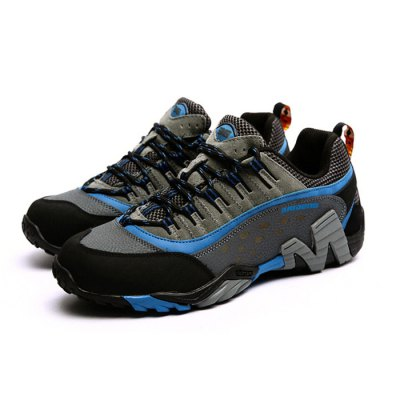 BAIDENG Men Hiking ShoesShoes<br>BAIDENG Men Hiking Shoes<br><br>Brand: BAIDENG<br>Type: Hiking Shoes<br>Features: Anti-slip,Breathable,Crashworthy,Durable,Shock-absorbing,Sweat-absorbing,Water Resistant<br>Gender: Men<br>Season: Autumn<br>Closure Type: Lace-Up<br>Sole Material: Rubber<br>Highlights: Breathable,Sweat Absorbing,Warm Keeping<br>Color: Brown,Gray,Khaki<br>Available Size: 42, 43 ,44, 45<br>Product weight: 0.700 kg<br>Package weight: 1.130 kg<br>Package size: 31.00 x 23.00 x 13.00 cm / 12.2 x 9.06 x 5.12 inches<br>Package Contents: 1 x Pair of BAIDENG Shoes
