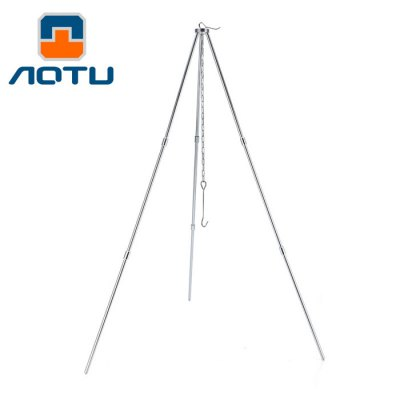 Aotu AT6320 Ultralight Camping Hanging Pot Tripod