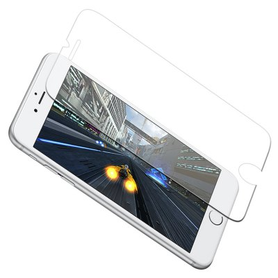Luanke Tempered Glass Screen Film for iPhone 7 Plus benks magic kr pro 0 15mm 3d curved tempered glass screen protector for iphone 6s plus 6 plus full cover white