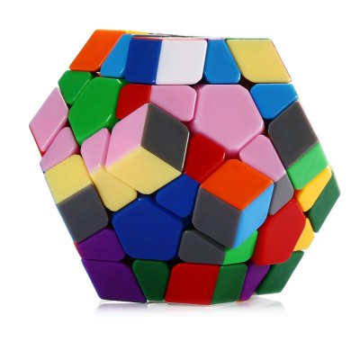 DaYan Irregular Dodecahedron Magic Cube ToyClassic Toys<br>DaYan Irregular Dodecahedron Magic Cube Toy<br><br>Age: Above 6 year-old<br>Brand: DaYan<br>Difficulty: Dodecahedron<br>Material: Plastic with Metal<br>Package Contents: 1 x Magic Cube<br>Package size (L x W x H): 10.00 x 10.00 x 10.50 cm / 3.94 x 3.94 x 4.13 inches<br>Package weight: 0.180 kg<br>Product size (L x W x H): 9.00 x 9.00 x 7.10 cm / 3.54 x 3.54 x 2.8 inches<br>Type: Magic Cubes
