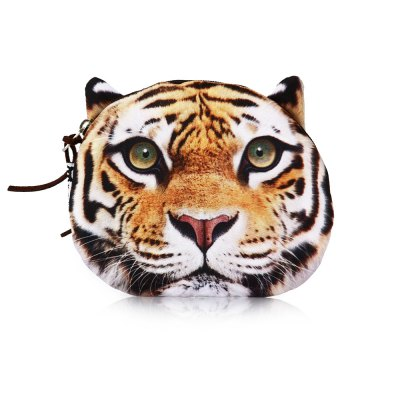 Cute Animal Printed Wallet Polyester Coin PurseCoin Purse &amp; Card Holder<br>Cute Animal Printed Wallet Polyester Coin Purse<br><br>Color: Black,Gray,Light Brown<br>Product weight: 0.016 kg<br>Package weight: 0.060 kg<br>Package Size(L x W x H): 18.00 x 9.00 x 12.00 cm / 7.09 x 3.54 x 4.72 inches<br>Packing List: 1 x Coin Wallet